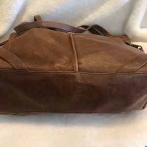 Lucky Brand Bags - Lucky Brand Brown Leather Large Bag